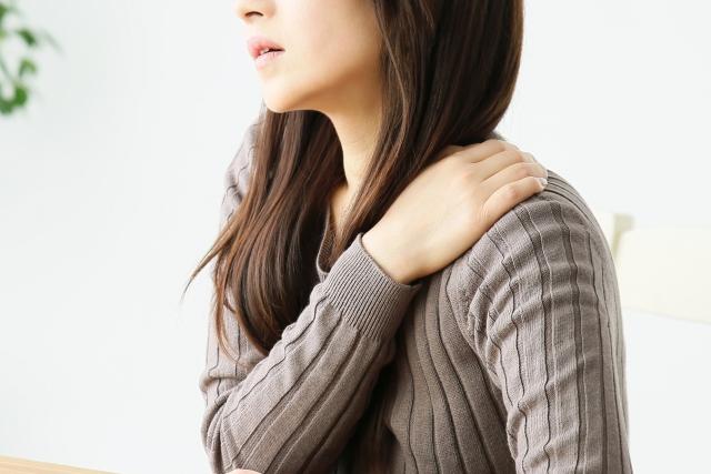 関節と違和感